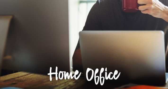 Home office à medida do possível